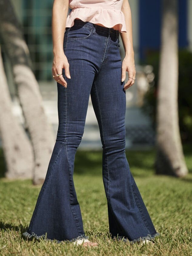 Tennley Flare Jeans - Altar'd State