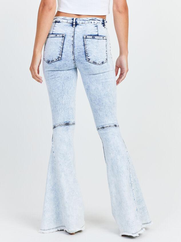 Karter Flare Jeans Detail 4 - Altar'd State