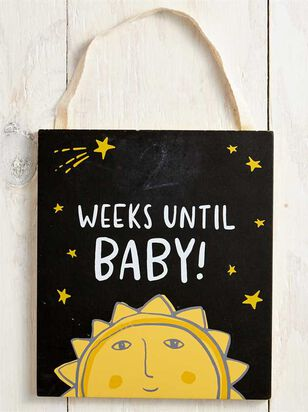 Tullabee Countdown until Baby Chalkboard Sign - Altar'd State