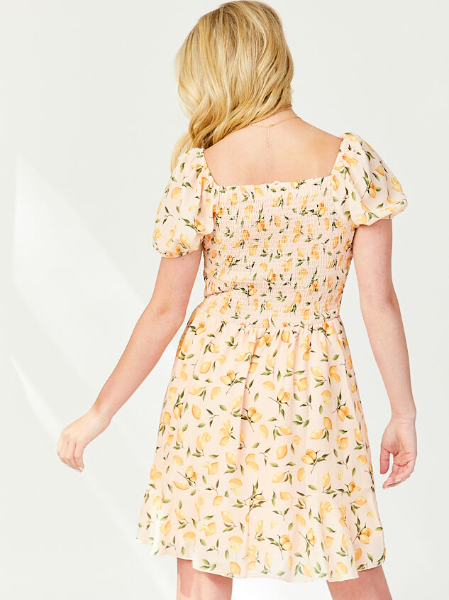 Pink Lemonade Dress Detail 3 - Altar'd State
