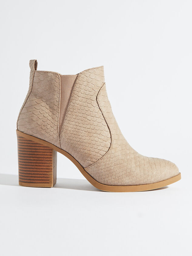 Kolby Booties - Taupe Detail 2 - Altar'd State