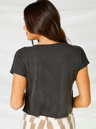 American Motorcycle Cropped Tee Detail 3 - Altar'd State