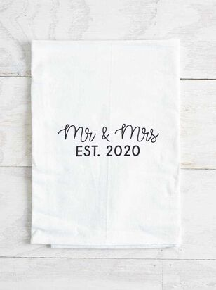 Mr. and Mrs. 2020 Hand Towel - Altar'd State