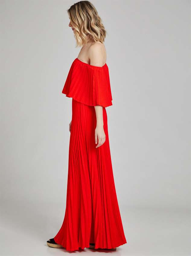 Audrianna Maxi Dress Detail 3 - Altar'd State