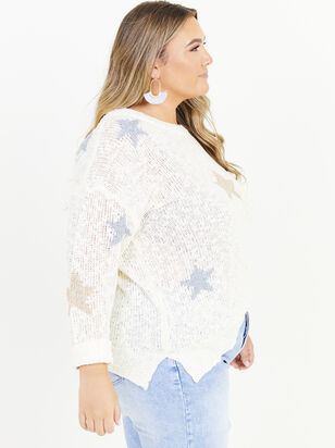 Seeing Stars Sweater - Altar'd State