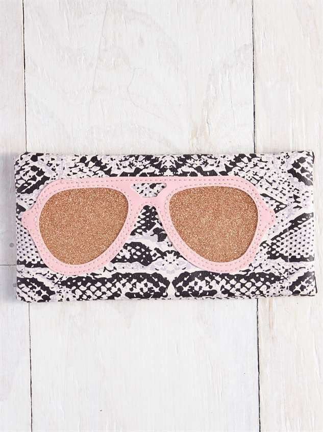 Snake Print Sunglasses Case - Altar'd State