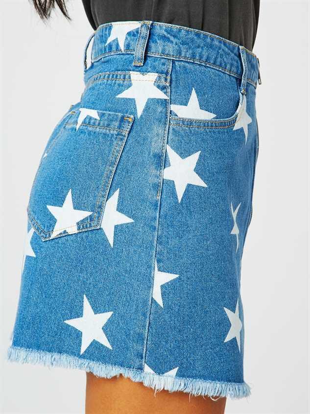 Star Gazer Skirt Detail 3 - Altar'd State