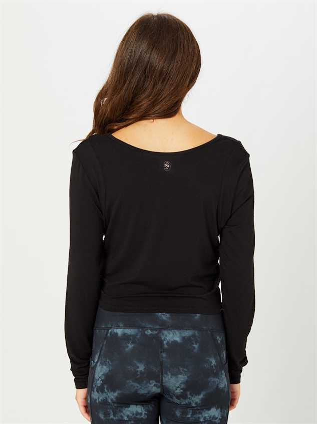 Revival Focus Long Sleeve Top Detail 3 - Altar'd State