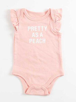Tullabee Pretty as a Peach Onesie - Altar'd State