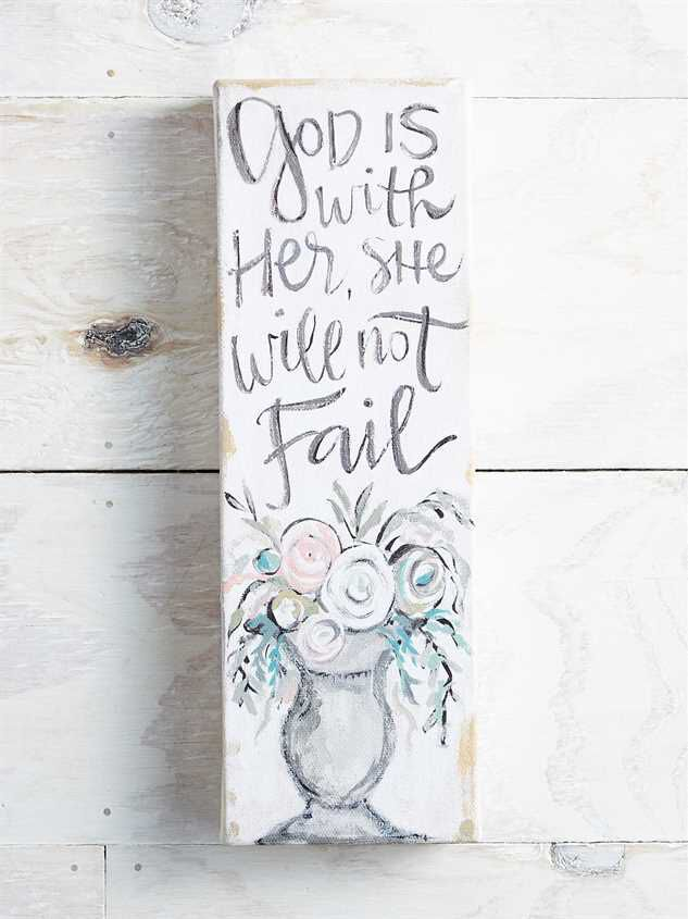 God is Within Her Canvas - Altar'd State