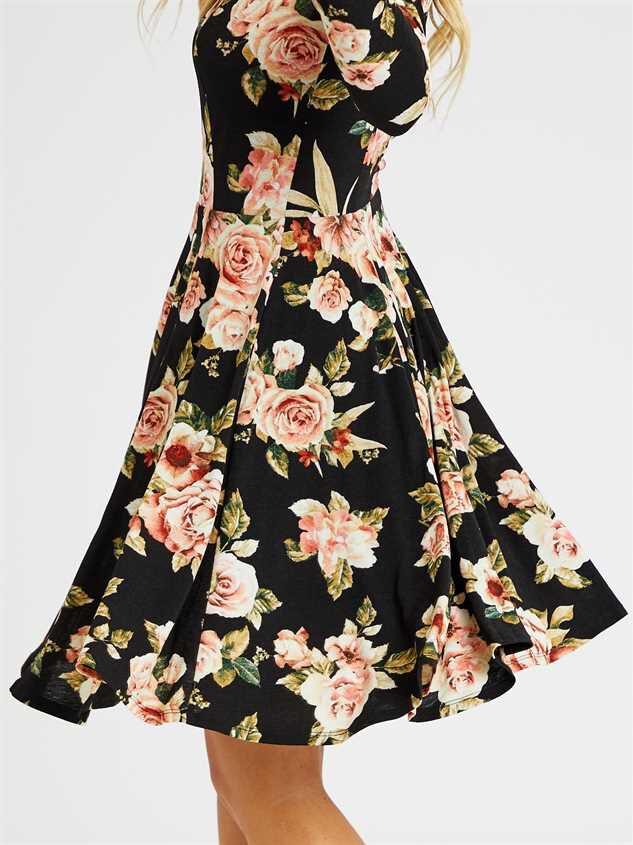 Janelle Dress Detail 4 - Altar'd State