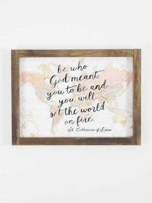 On Fire Wall Art - Altar'd State