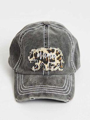 Mama Bear Leopard Baseball Hat - Altar'd State