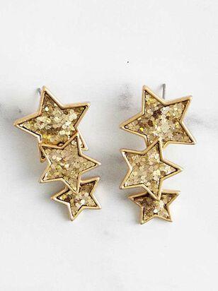 Twinkle Star Earrings - Altar'd State
