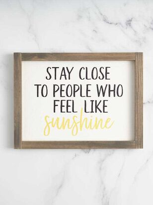 Feel Like Sunshine Wall Art - Altar'd State