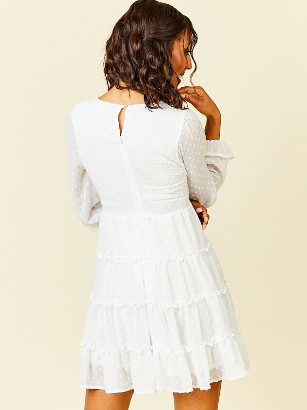 Eliza Dress - White Detail 2 - Altar'd State