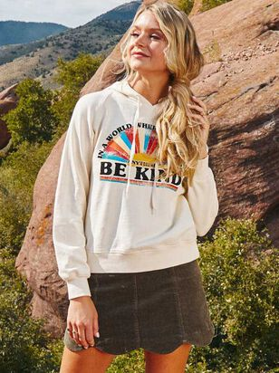 Be Kind Hooded Top - Altar'd State