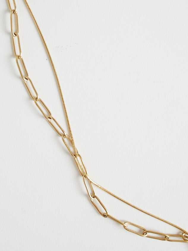 Sage Necklace - Gold Detail 4 - Altar'd State