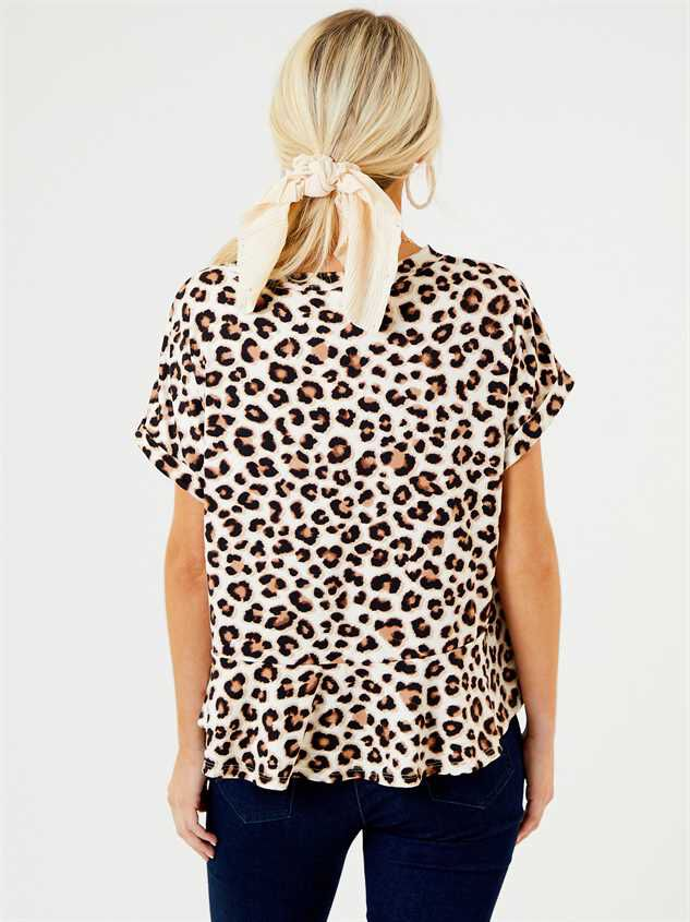 Arica Leopard Top Detail 3 - Altar'd State
