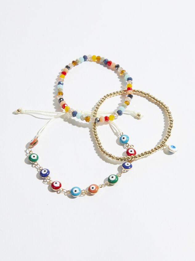 Iris Beaded Bracelet Set Detail 1 - Altar'd State