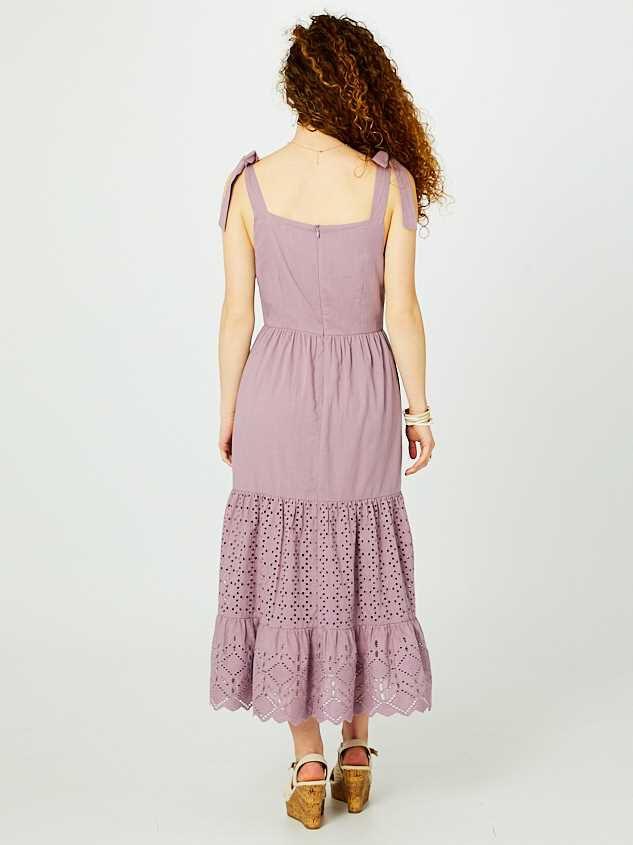 Penelope Midi Dress Detail 3 - Altar'd State