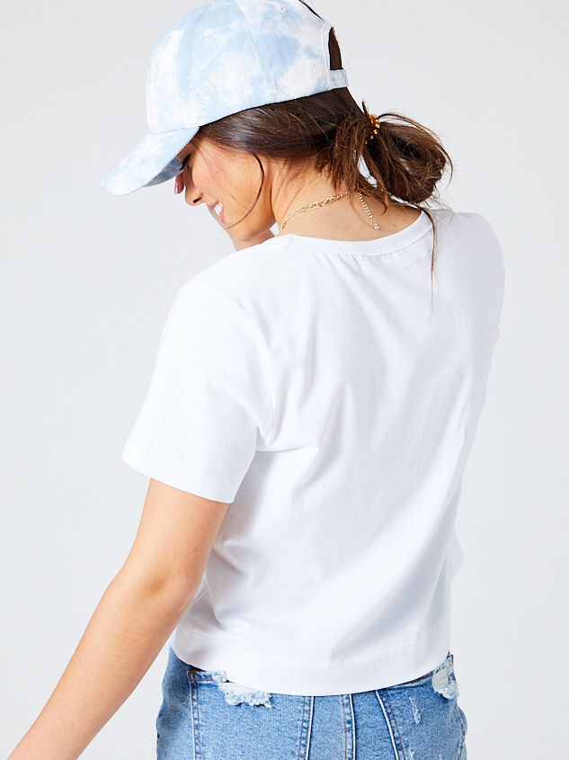 Bay Cropped Tee Detail 4 - Altar'd State