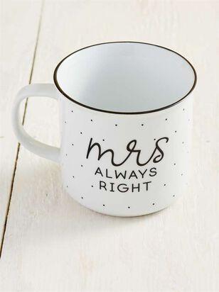Mrs. Always Right Est. 2019 Mug - Altar'd State