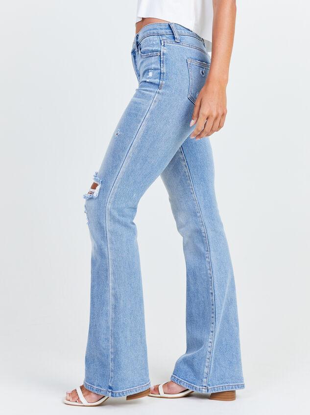 Galveston Flare Jeans Detail 3 - Altar'd State