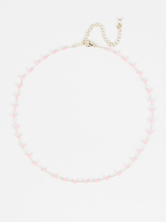 Tide Pool Necklace - Pink - Altar'd State