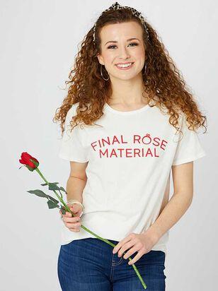 Final Rose Material Top - Altar'd State