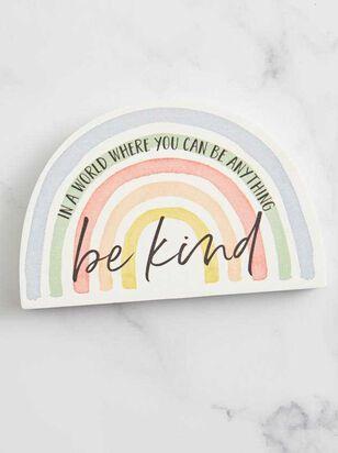 Be Kind Block Sign - Altar'd State