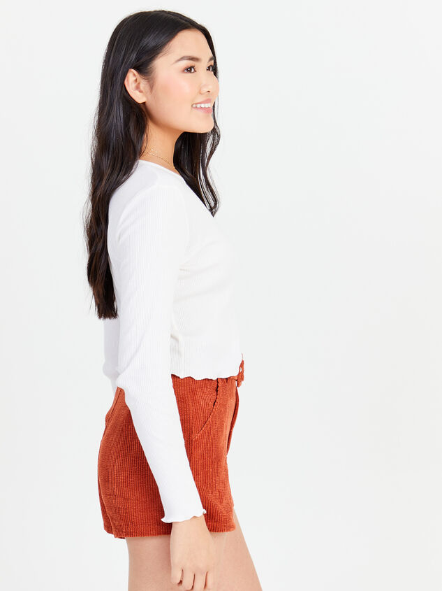 Sidone Long Sleeve Top Detail 2 - Altar'd State