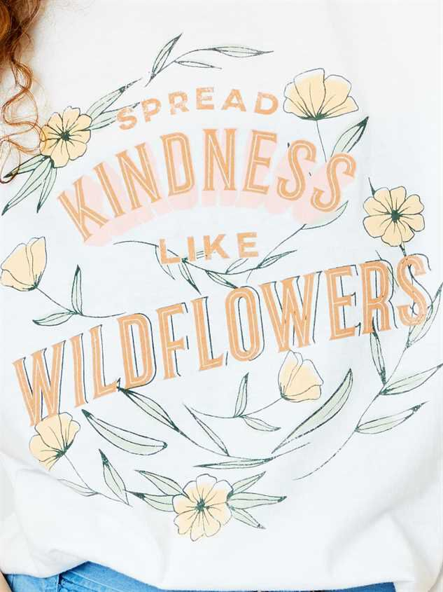 Spread Kindness Crop Top Detail 4 - Altar'd State