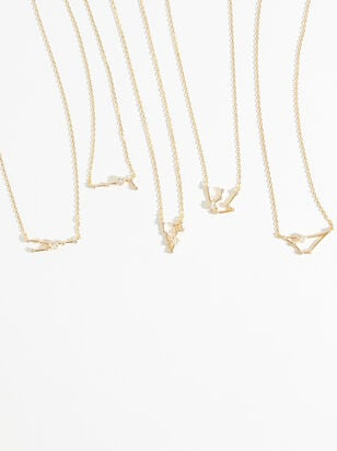 14K Gold Zodiac Charm Necklace Collection - Altar'd State