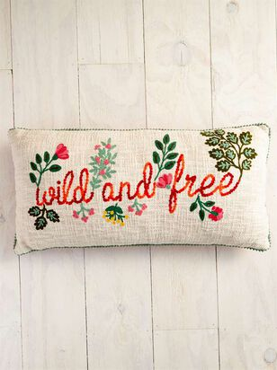 Wild and Free Pillow - Altar'd State