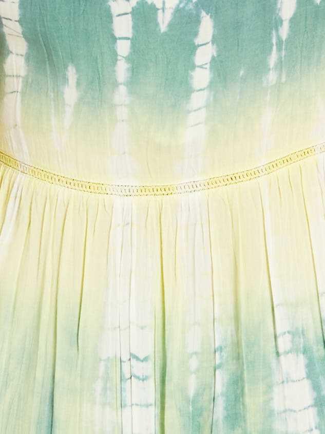 Tie Dye Dreams Dress Detail 4 - Altar'd State