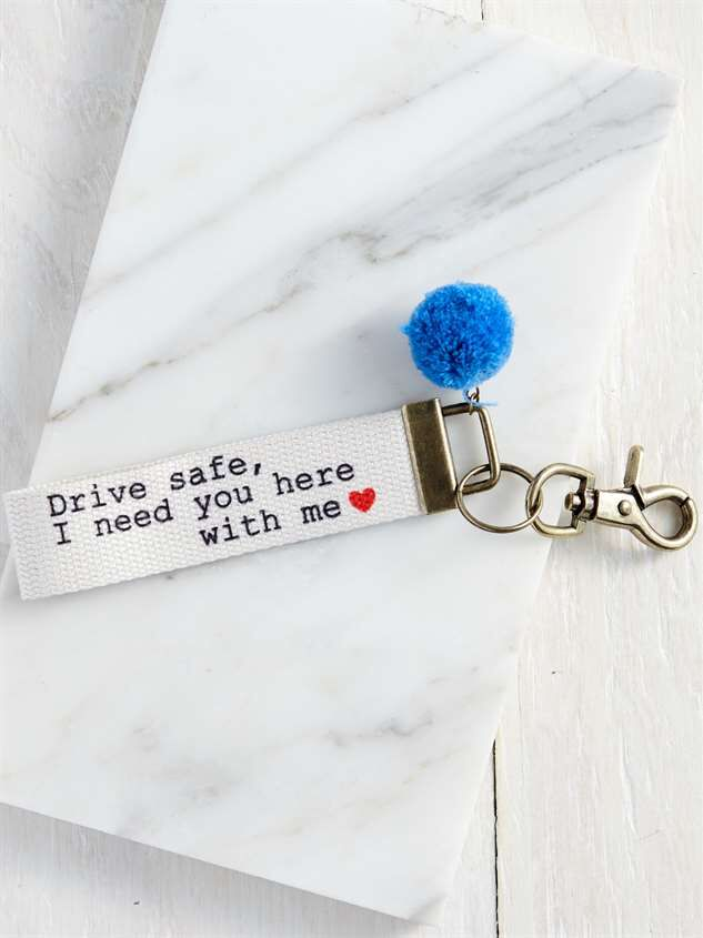 Drive Safe Keychain - Altar'd State