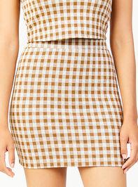 Get a Clue Skirt Detail 2 - Altar'd State
