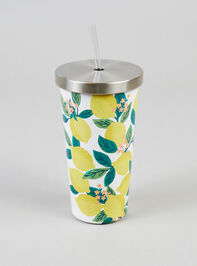 Lemon Tree Tumbler with Straw - Altar'd State