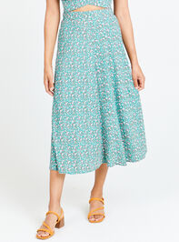 Ditsy Floral Maxi Skirt - Altar'd State