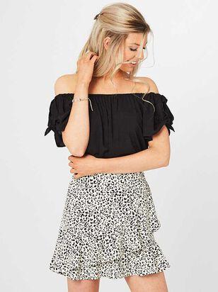 Ruffle Leopard Skirt - Altar'd State