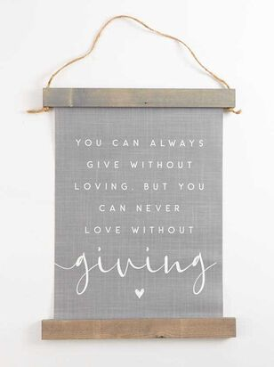 Love WIthout Giving Banner - Altar'd State
