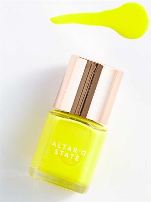 Neon Yellow Nail Polish - Altar'd State