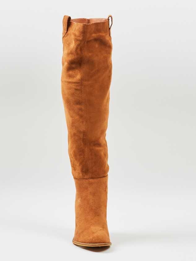 Saint Knee High Boots Detail 2 - Altar'd State