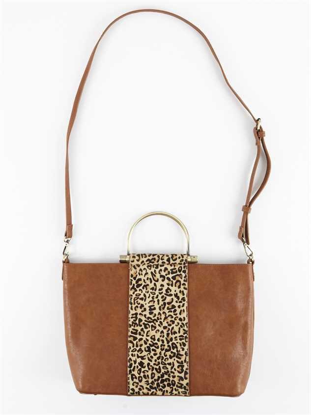 Lula Leopard Handbag Detail 4 - Altar'd State