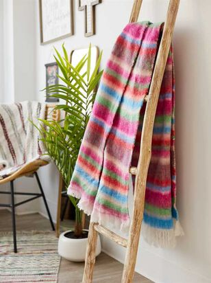 Rondo Striped Blanket - Altar'd State