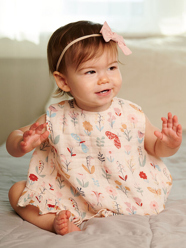 Tullabee Butterfly Top & Bloomers Detail 1 - Altar'd State