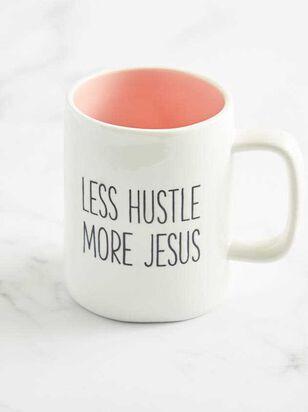 Less Hustle More Jesus Mug - Altar'd State