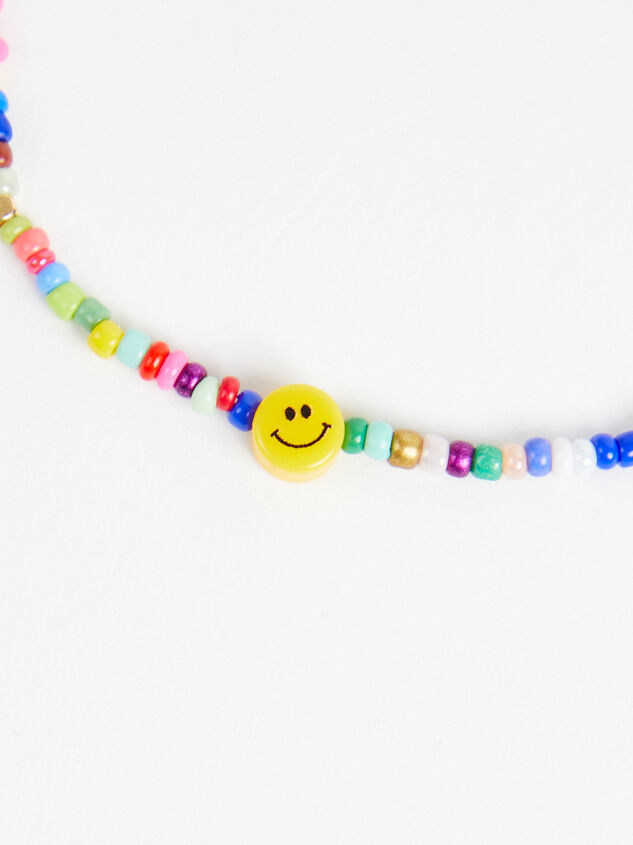 Dainty Smiley Choker Necklace - Altar'd State