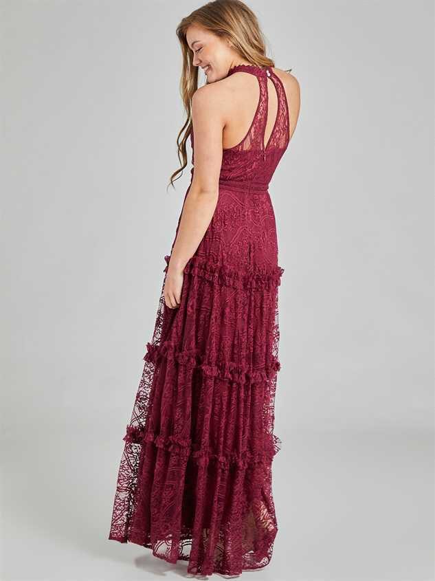Aurelia Maxi Dress Detail 4 - Altar'd State